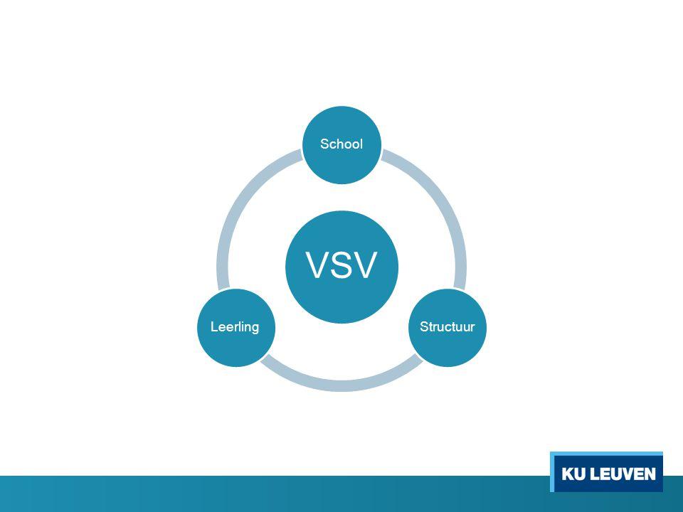 VSV SchoolStructuurLeerling