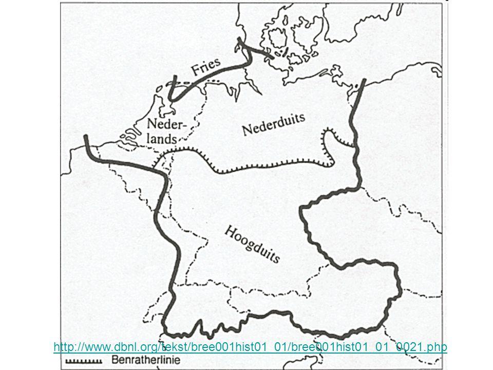 Dialectologie Dialectgrenzen (versus) grenzen tussen standaardtalen Invloed van de standaardtaal –Wassen => groeien (Nederlandse ST) –Pasen => Ostern (Hoogduitse ST)
