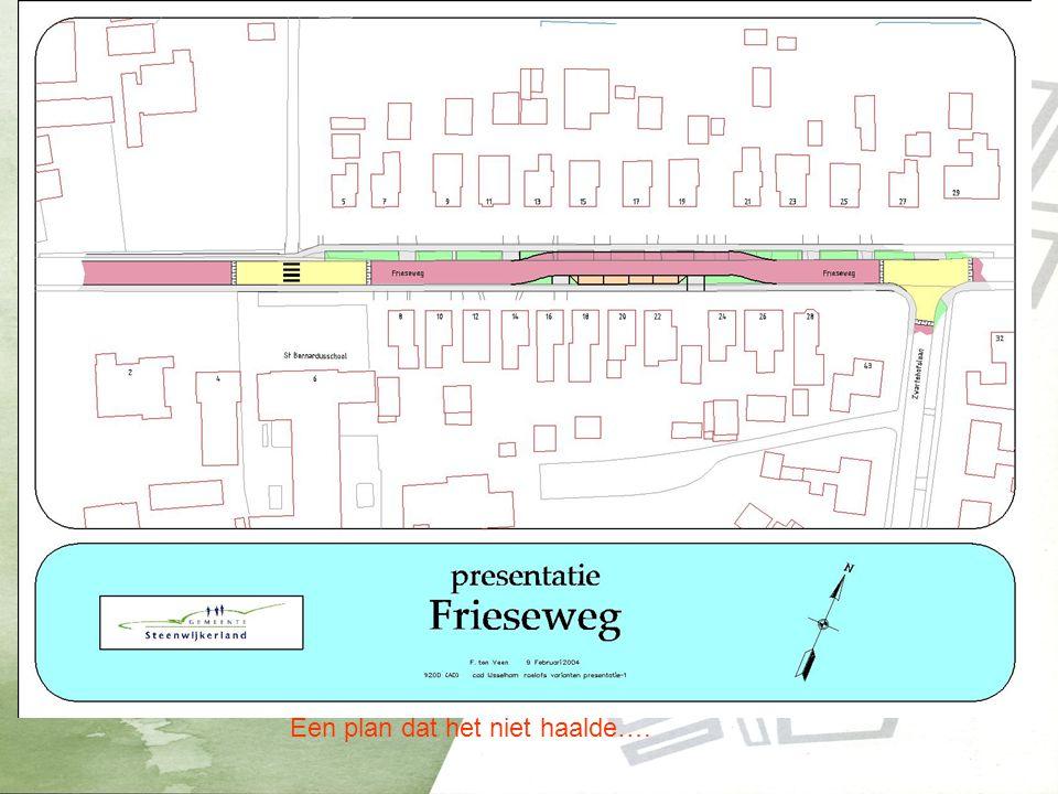 Nieuwe situatie Frieseweg