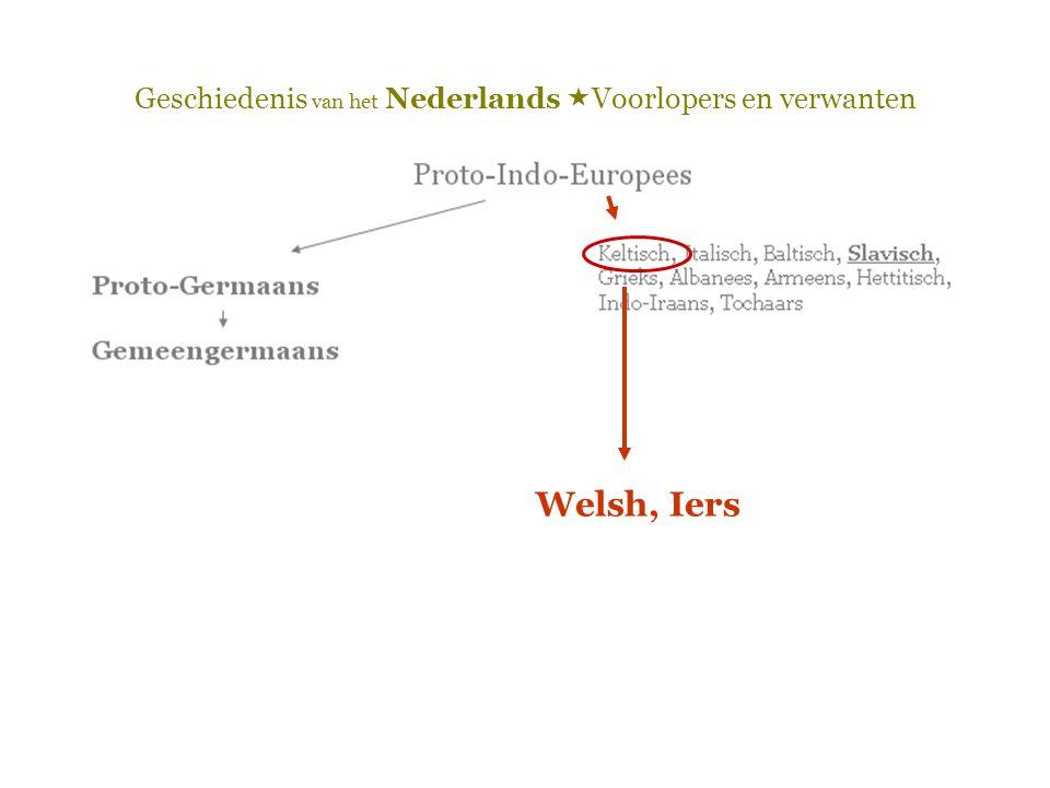 Welsh, Iers