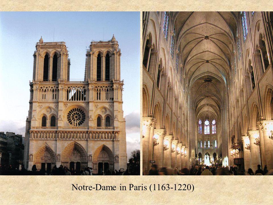 Notre-Dame in Paris (1163-1220)