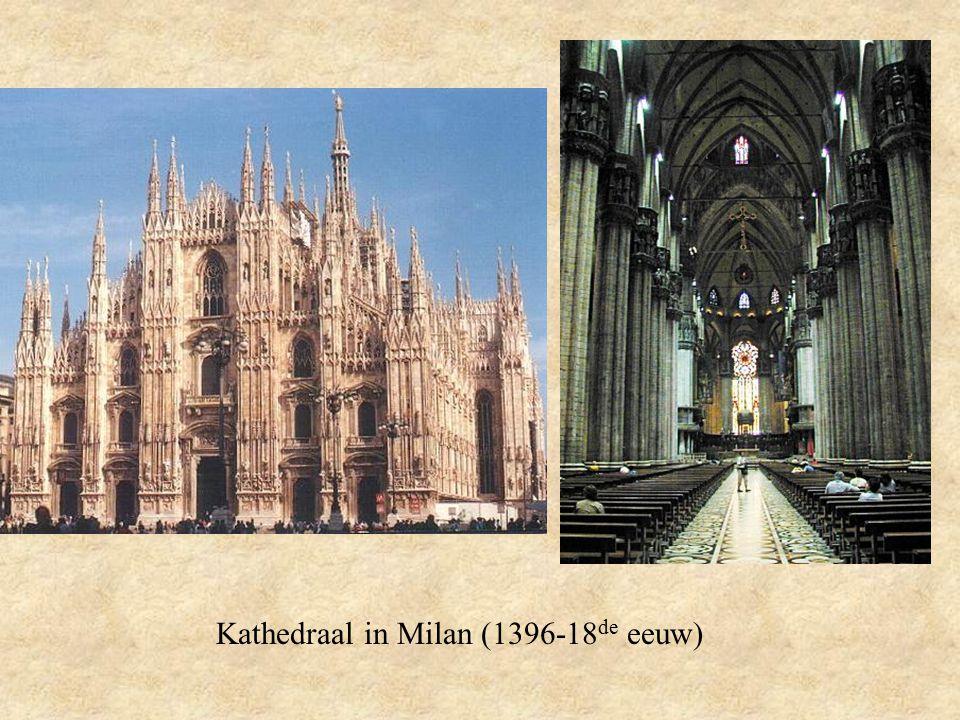Kathedraal in Milan (1396-18 de eeuw)