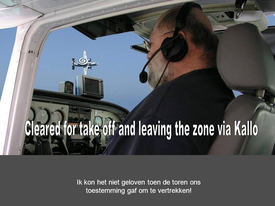 Cockpit check …