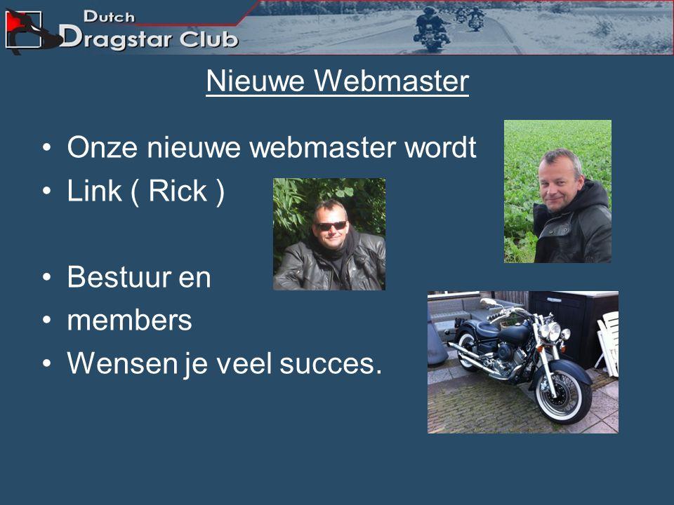 Webmaster stopt. Ron onze Webmaster gaat ermee stoppen. Na enkele jaren trouwe dienst gaat die wegens drukte met het werk stoppen als Webmaster voor d