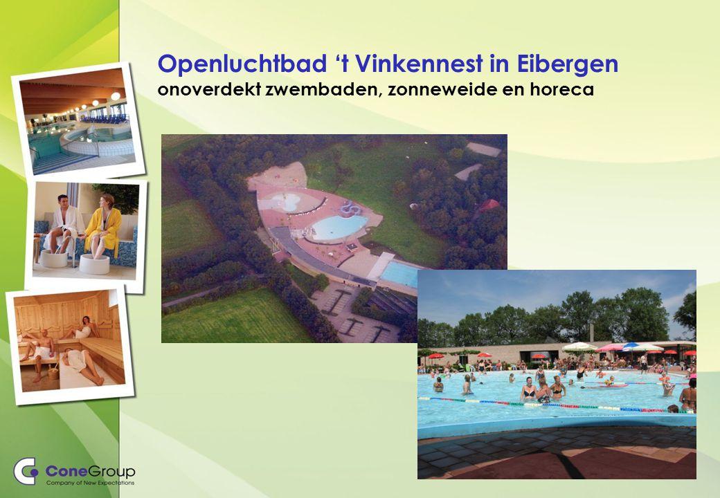 Openluchtbad 't Vinkennest in Eibergen onoverdekt zwembaden, zonneweide en horeca