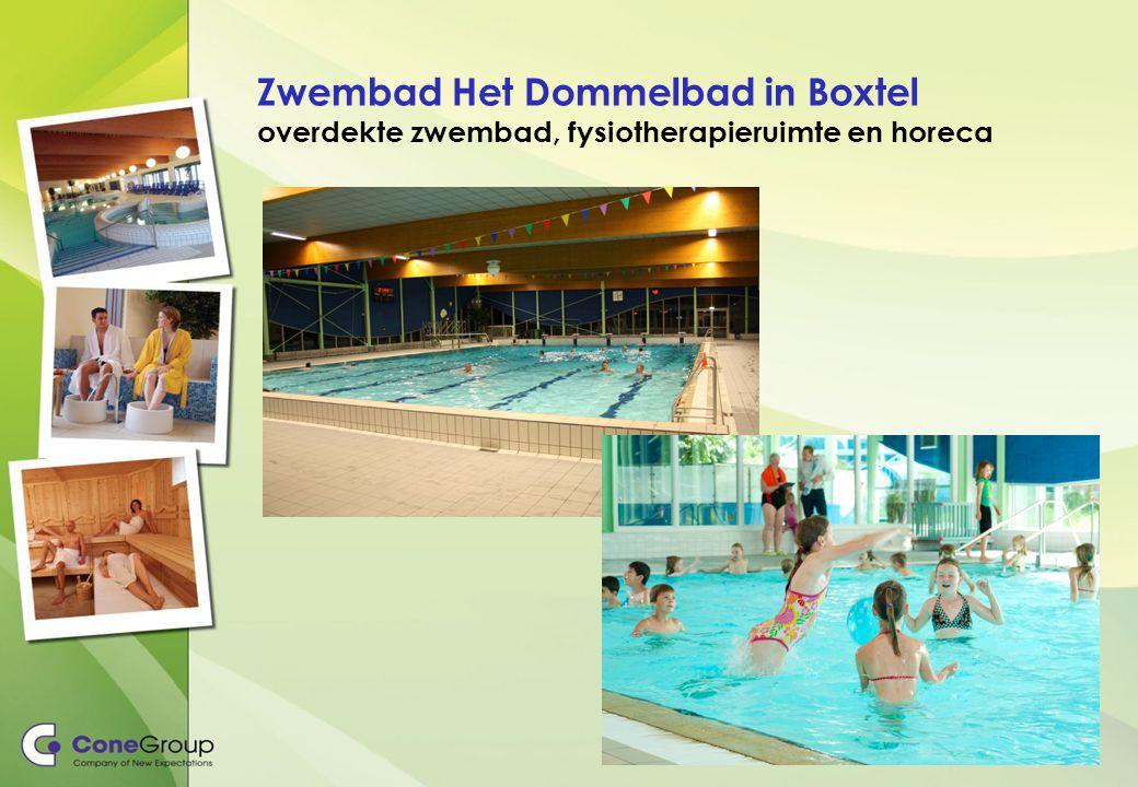Zwembad Het Dommelbad in Boxtel overdekte zwembad, fysiotherapieruimte en horeca