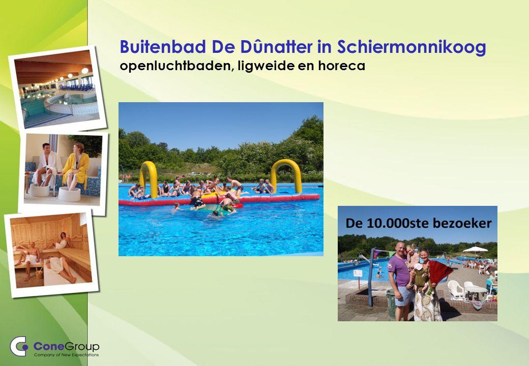 Buitenbad De Dûnatter in Schiermonnikoog openluchtbaden, ligweide en horeca