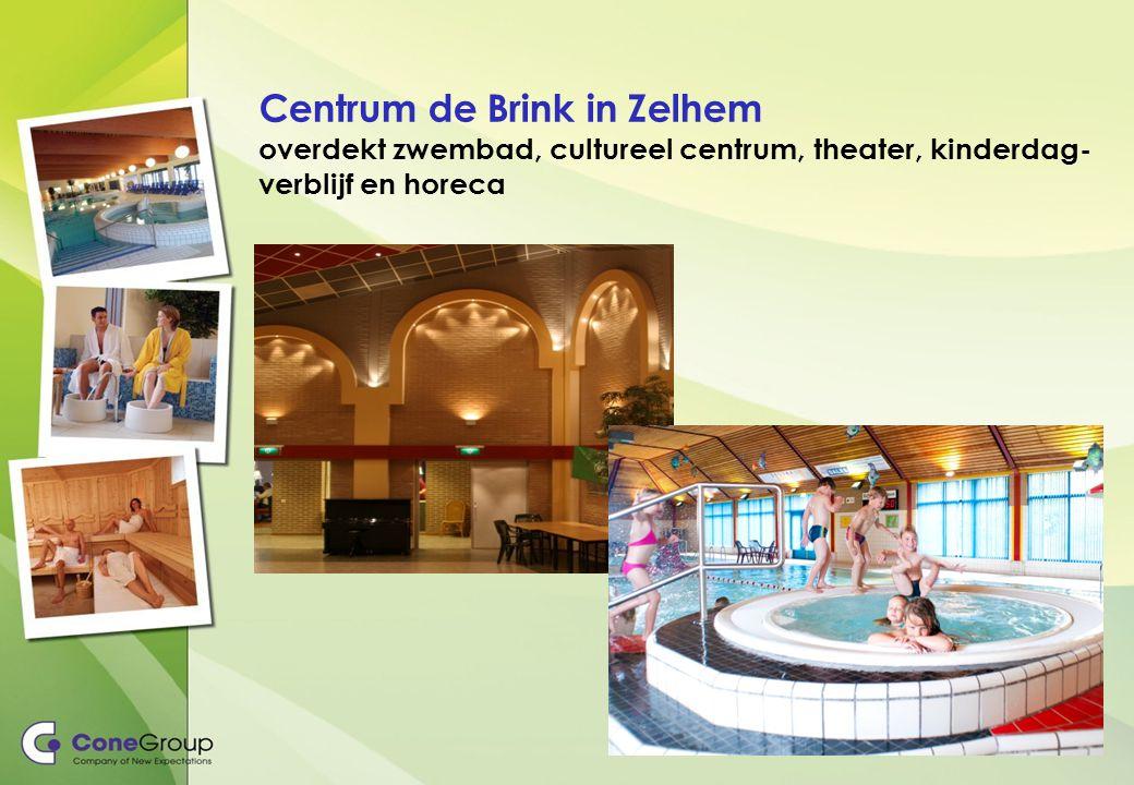 Centrum de Brink in Zelhem overdekt zwembad, cultureel centrum, theater, kinderdag- verblijf en horeca