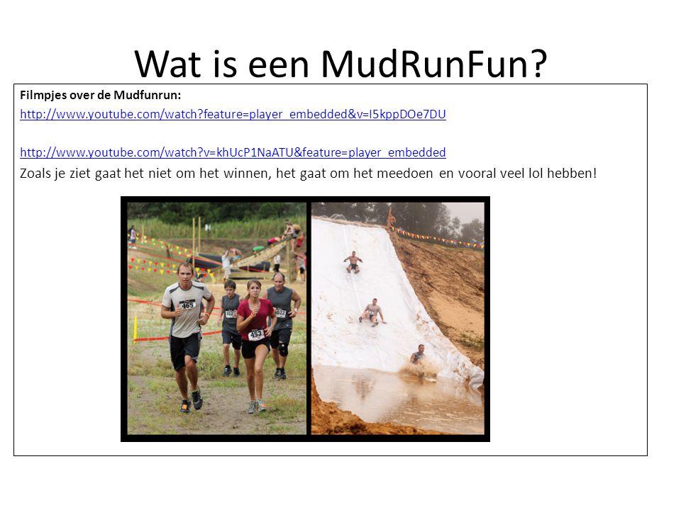 Wat is een MudRunFun.