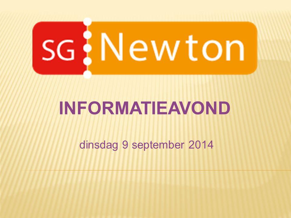 dinsdag 9 september 2014 INFORMATIEAVOND