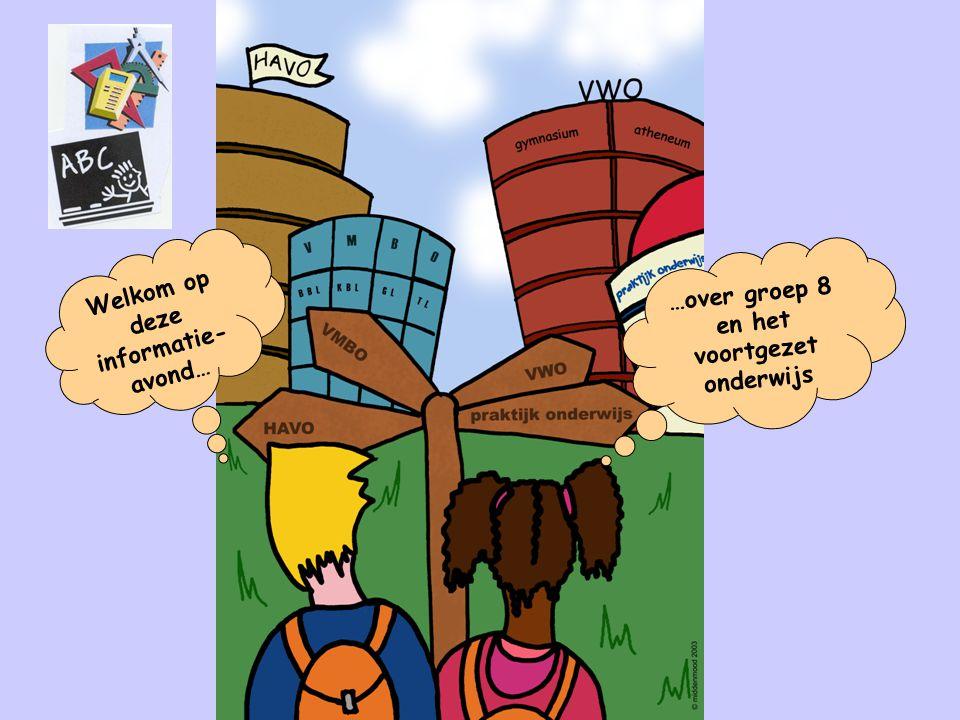 Aanmelden op het voortgezet onderwijs 25, 26 en 27 maart:Er zijn aanmeldavonden op de V0-scholen.