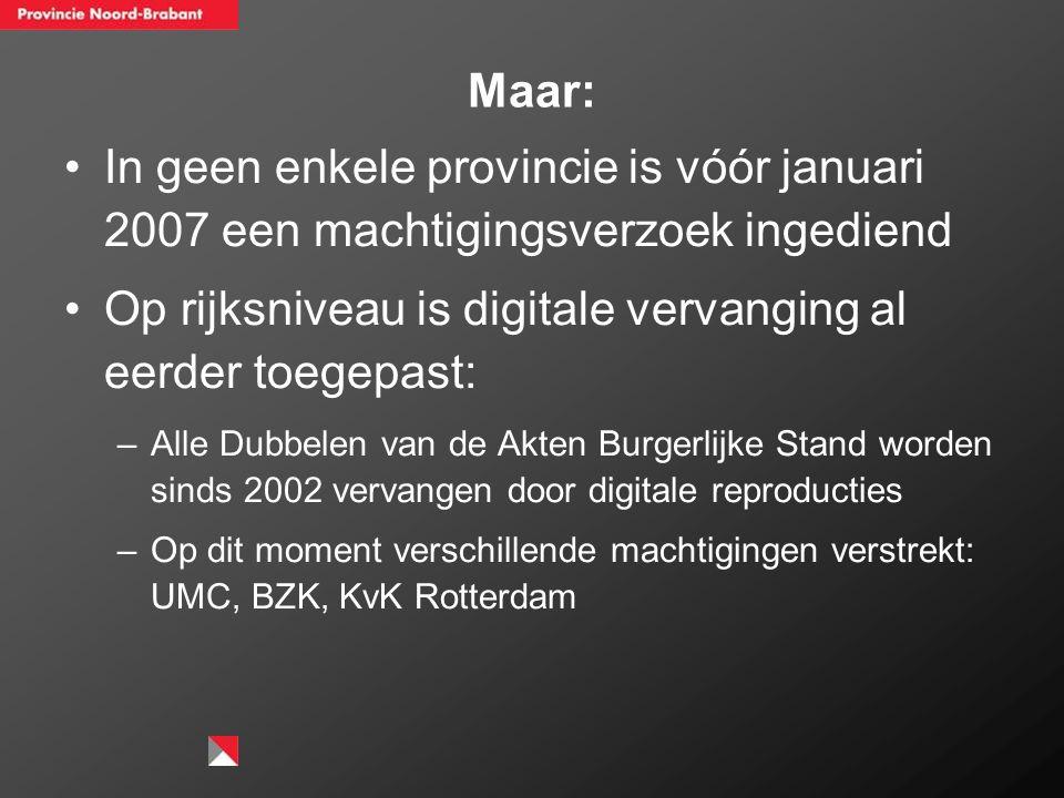 Geert-Jan van Bussel: Substitutieaanvragen worden in de praktijk met name aangevraagd voor migraties van (grote) papieren bestanden naar digitale docu