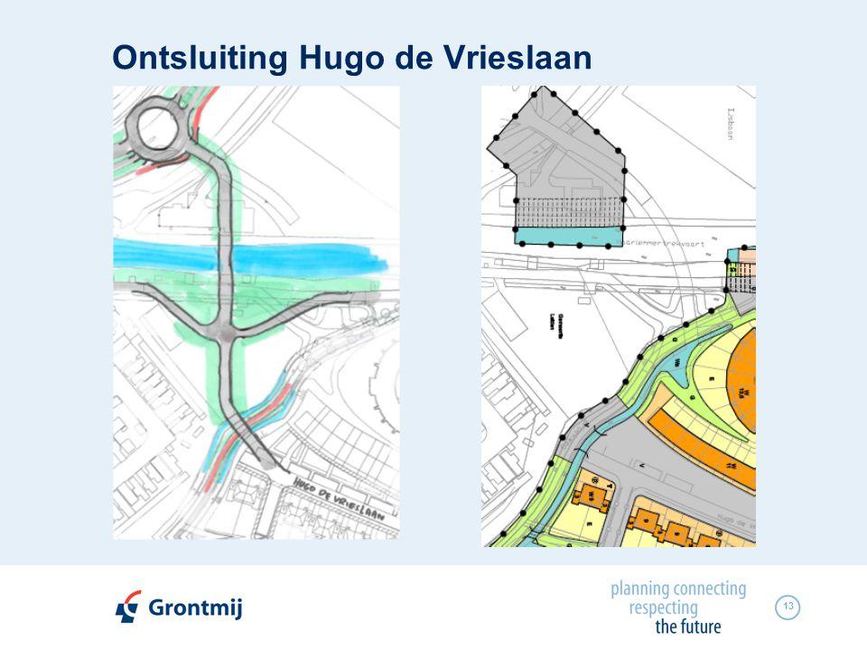 13 Ontsluiting Hugo de Vrieslaan