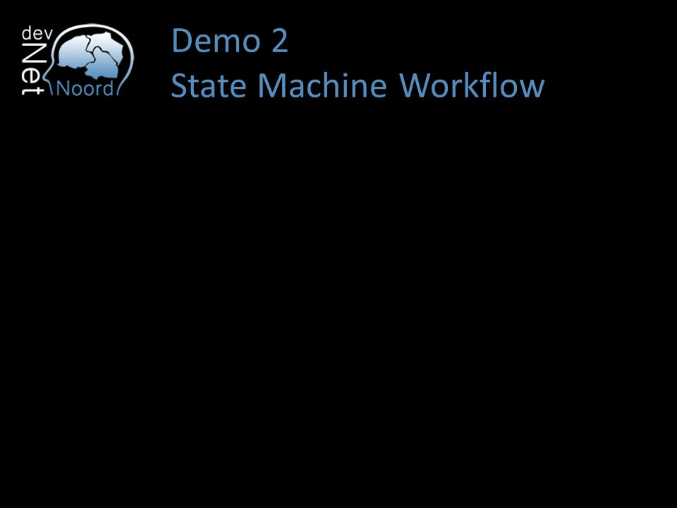Demo 2 State Machine Workflow