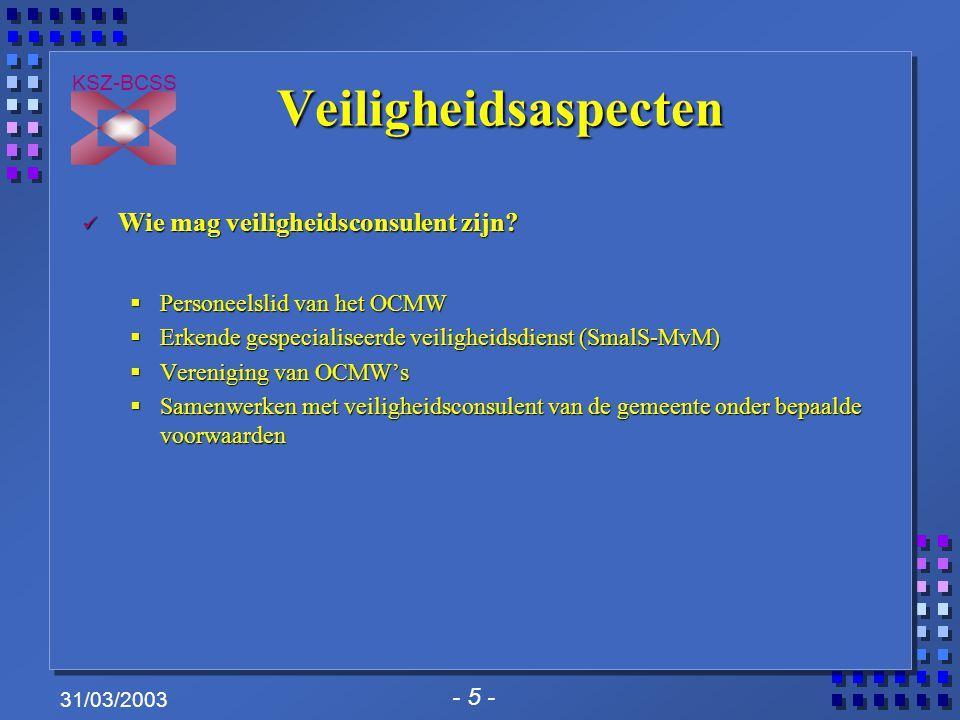 - 16 - KSZ-BCSS 31/03/2003 Introductie XML in project OCMW's (1/4) OCMW's die reeds gebruik maken van de bestaande berichten in IHFN-formaat mogen deze blijven gebruiken of verder blijven ontwikkelen.