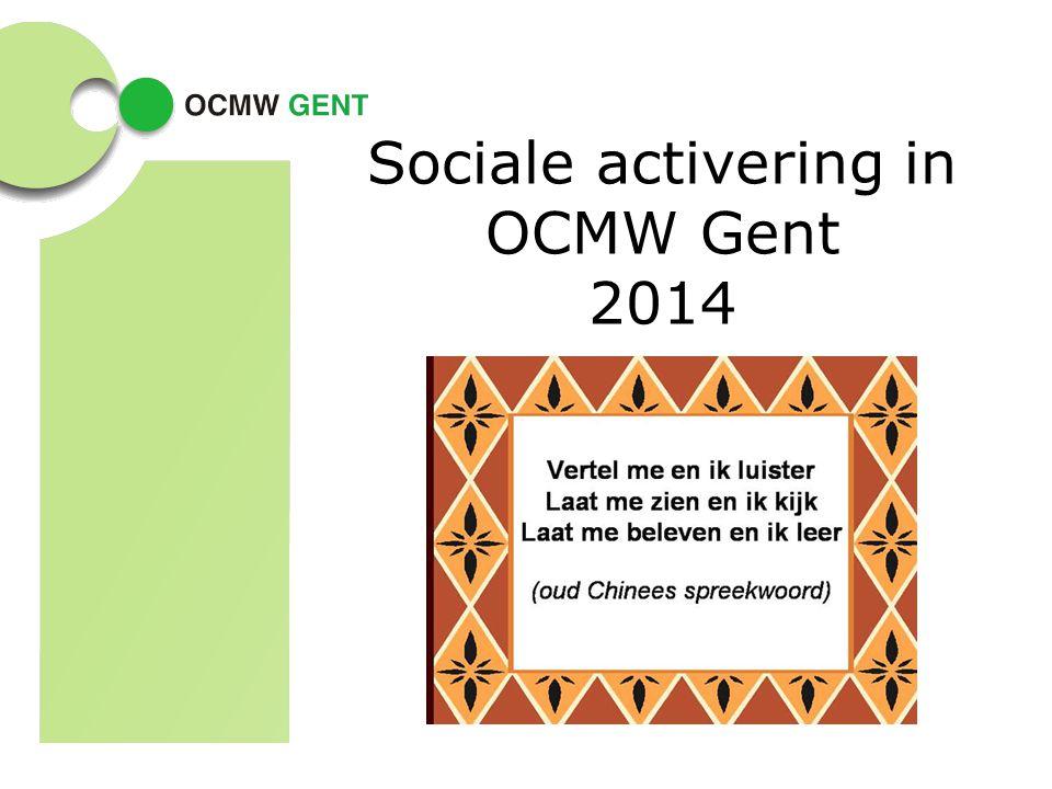 Sociale activering in OCMW Gent 2014