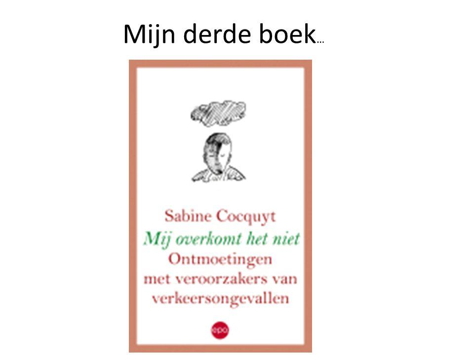 Mijn derde boek …