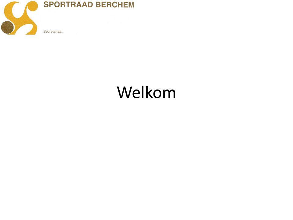Voorwoord Rudy Condes Voorzitter sportraad Berchem