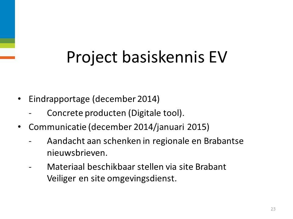 Project basiskennis EV DeDe digitale tool 22