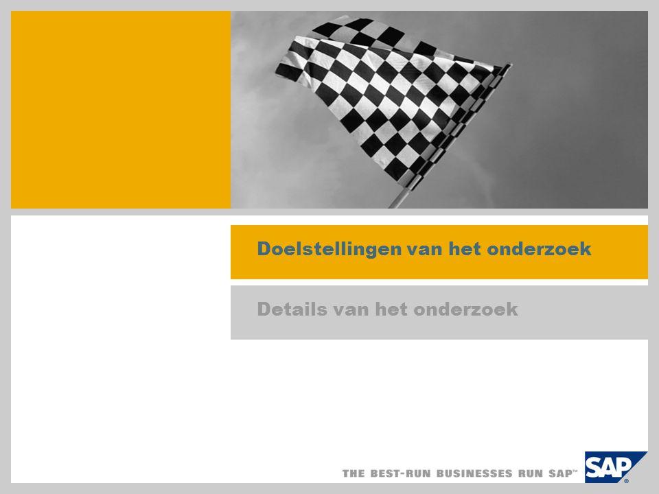Impact van SAP Best Practices op een laptop (images) Dankzij SAP Best Practices-images kan met behulp van een krachtige laptop live op locatie worden gedemonstreerd hoe in SAP ERP kan worden geprofiteerd van een landspecifieke ERP Baseline-installatie of branchespecifieke SAP Best Practices-installatie SAP-images zijn erg overtuigend en hebben een doorslaggevende invloed gehad op mijn beslissing om de SAP Business All-in-One-oplossing aan te schaffen voor ons bedrijf. Met de laptop-images van SAP Business All-in-One/SAP Best Practices kan een compleet demosysteem op een handige en consistente manier op locatie bij een nieuwe prospect worden gedemonstreerd.