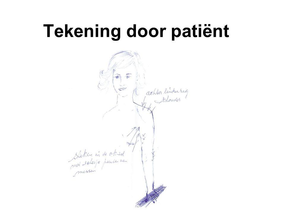 Tekening door patiënt