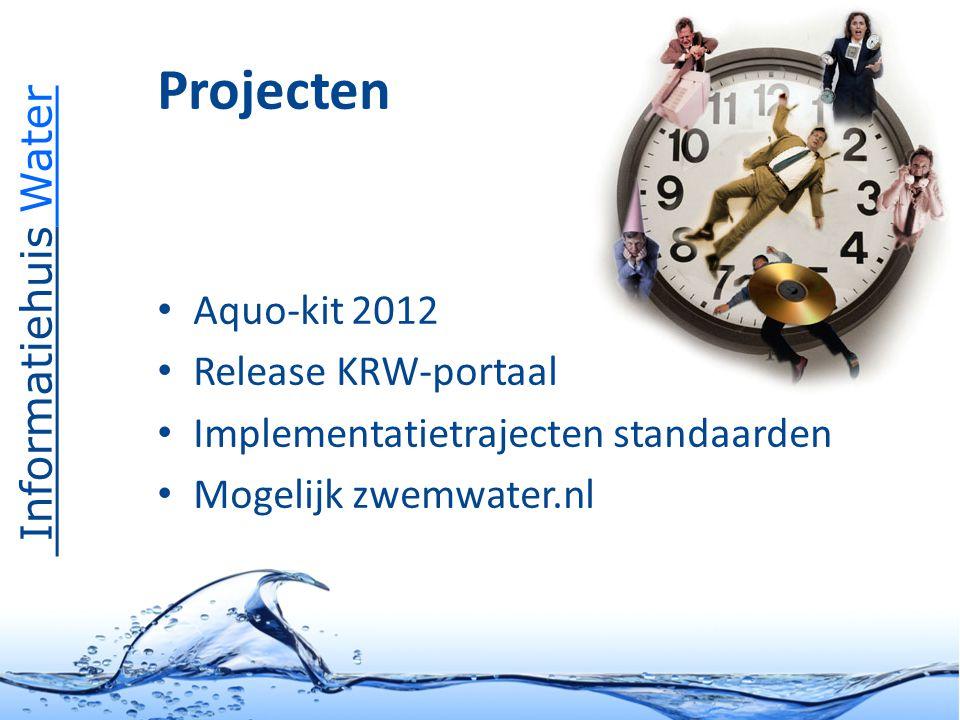 Informatiehuis Water Toekomst tot 2013 Focus op waterkwaliteit Verbreding via business cases: ontsluiting andere registraties bv.