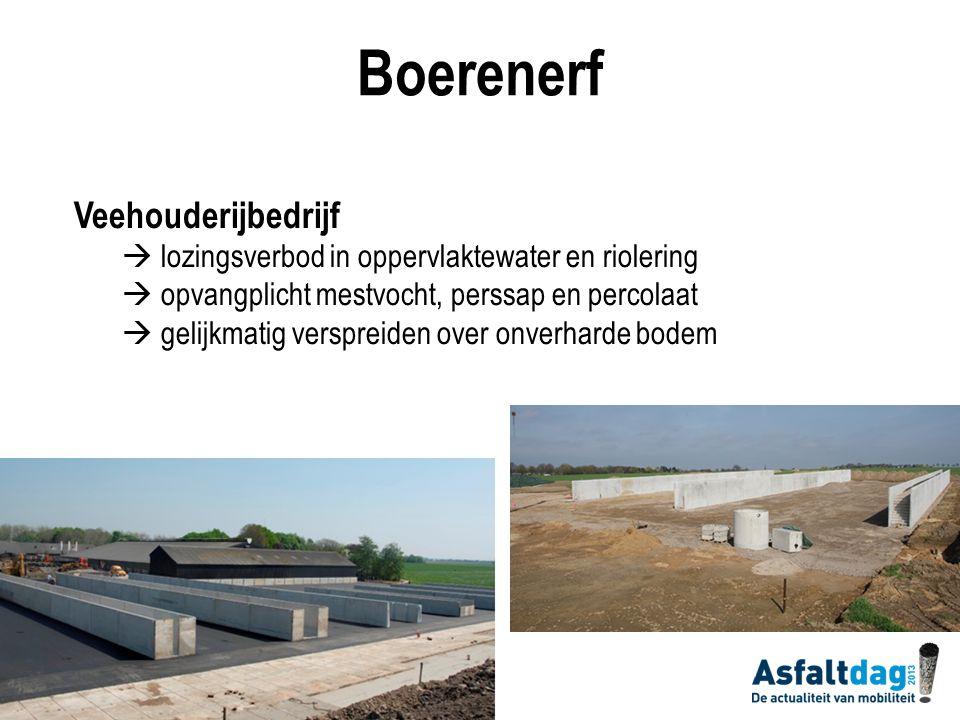 Boerenerf Akkerbouwbedrijf  milieugevaar: lozing gewasbeschermingsmiddelen  reinigen veldspuitapparatuur  (zeer) hoge normoverschrijdingen