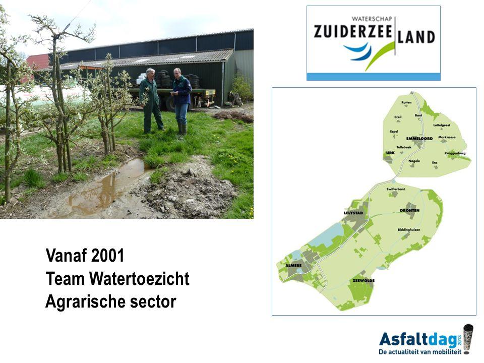 Opbouw Taken waterschap Activiteitenbesluit Agrarische activiteiten Boerenerf Instrumenten