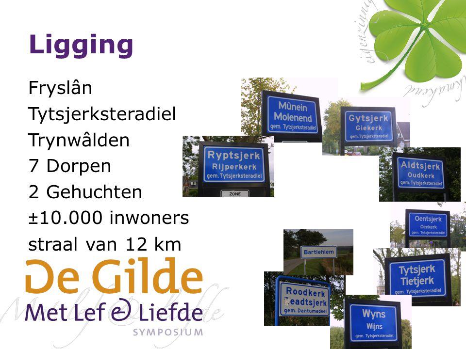 Ligging Fryslân Tytsjerksteradiel Trynwâlden 7 Dorpen 2 Gehuchten ±10.000 inwoners straal van 12 km