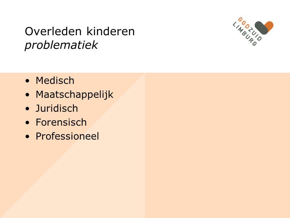 Overleden kinderen problematiek Medisch Maatschappelijk Juridisch Forensisch Professioneel