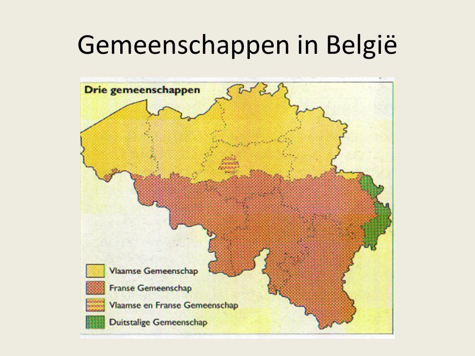 Gemeenschappen in België
