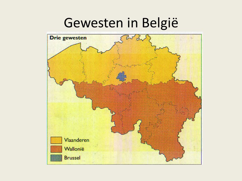 Gewesten in België