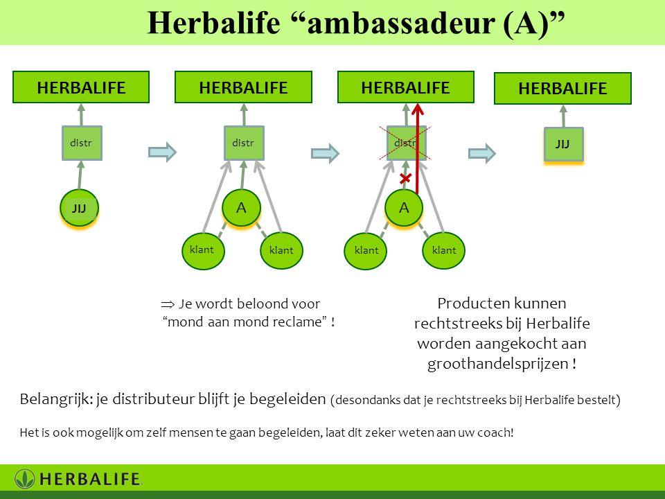 """Producten kunnen rechtstreeks bij Herbalife worden aangekocht aan groothandelsprijzen !  Je wordt beloond voor """"mond aan mond reclame"""" ! klant Herbal"""