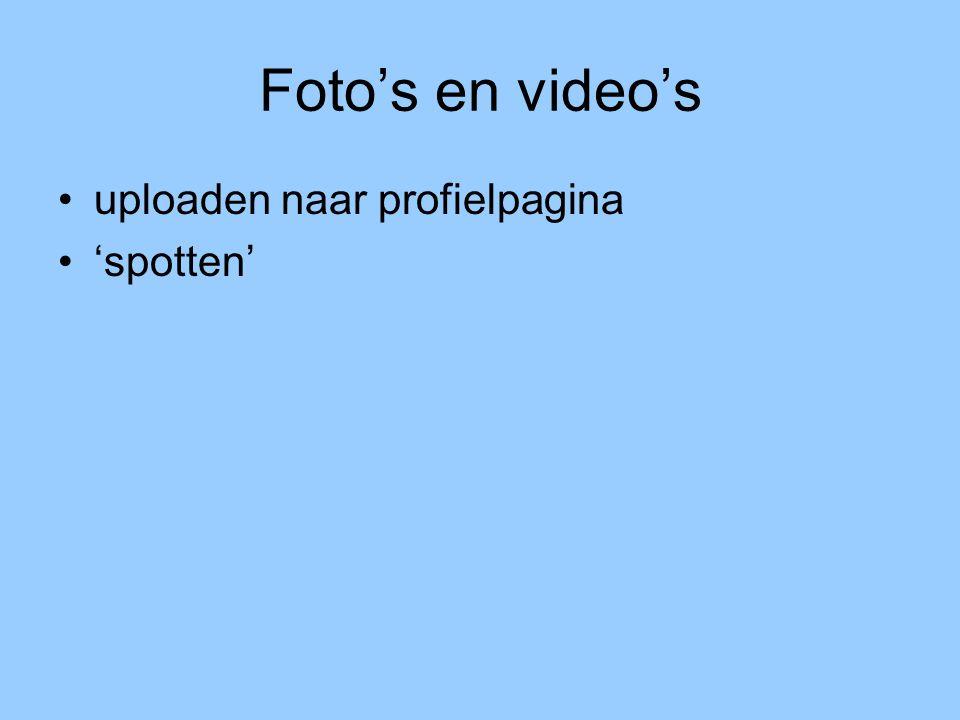 Profiel pimpen kleuren, lettertypes, foto's en video's