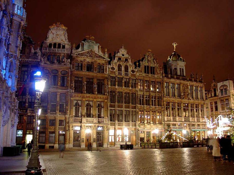 In het hart van België, met een miljoen inwoners, ligt in Brussel, hoofdstad van het land.