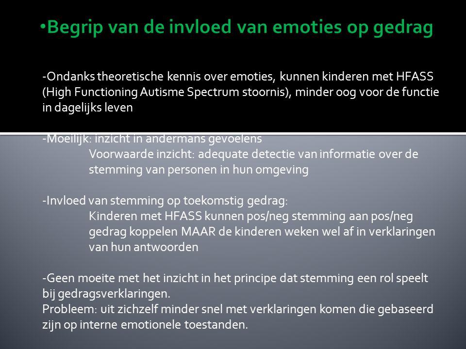 Sociale regulatie van emotionele expressie Sociale regulatie van emotionele expressie