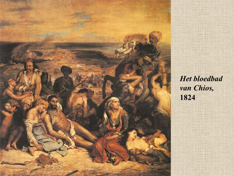 Het bloedbad van Chios, 1824