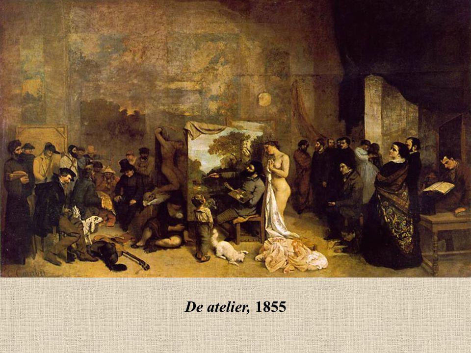Jean François Millet (1814-1875) Millet kreeg een academische opleiding, maar na 1840 keerde hij zich, af van de officiële modestijl.