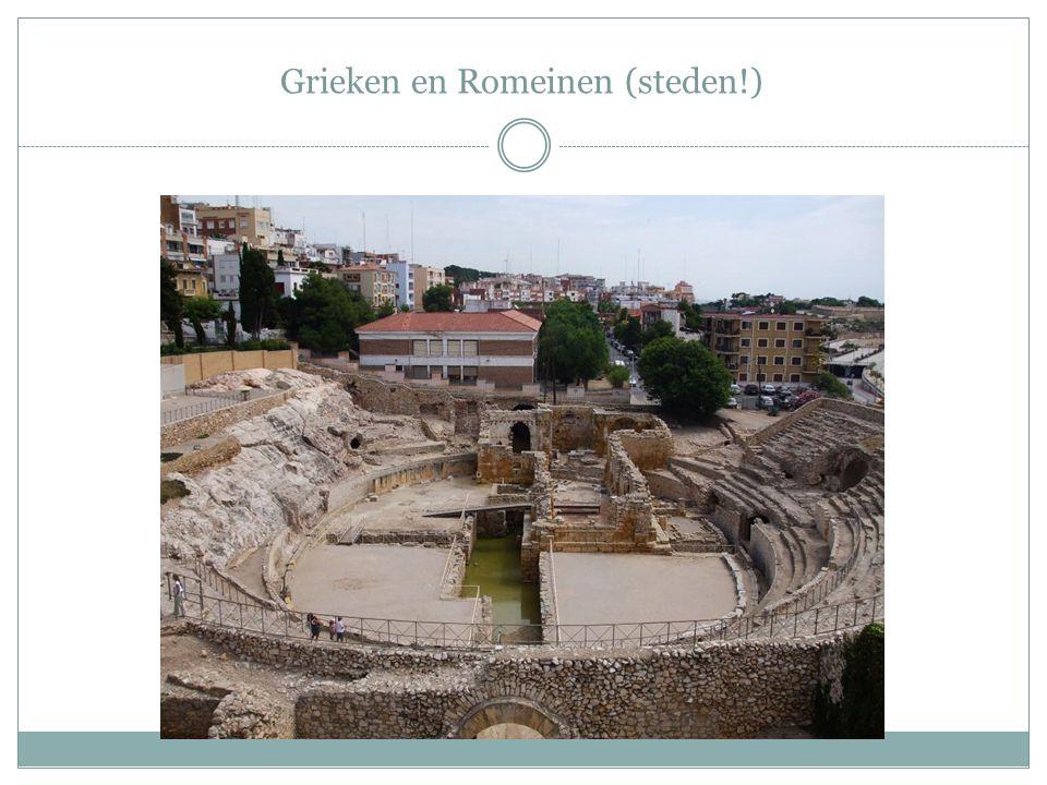 Grieken en Romeinen (steden!)