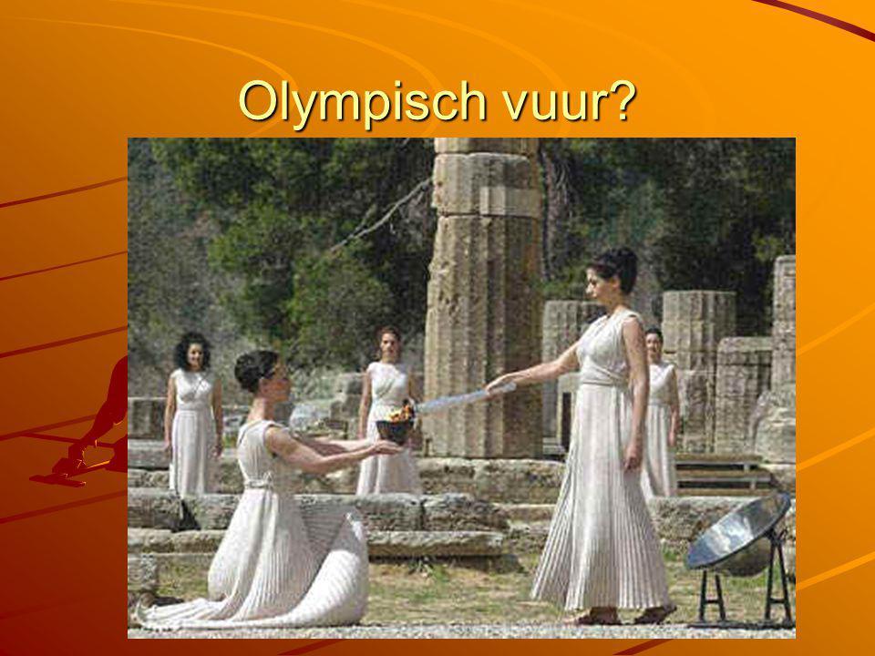 Olympisch vuur?