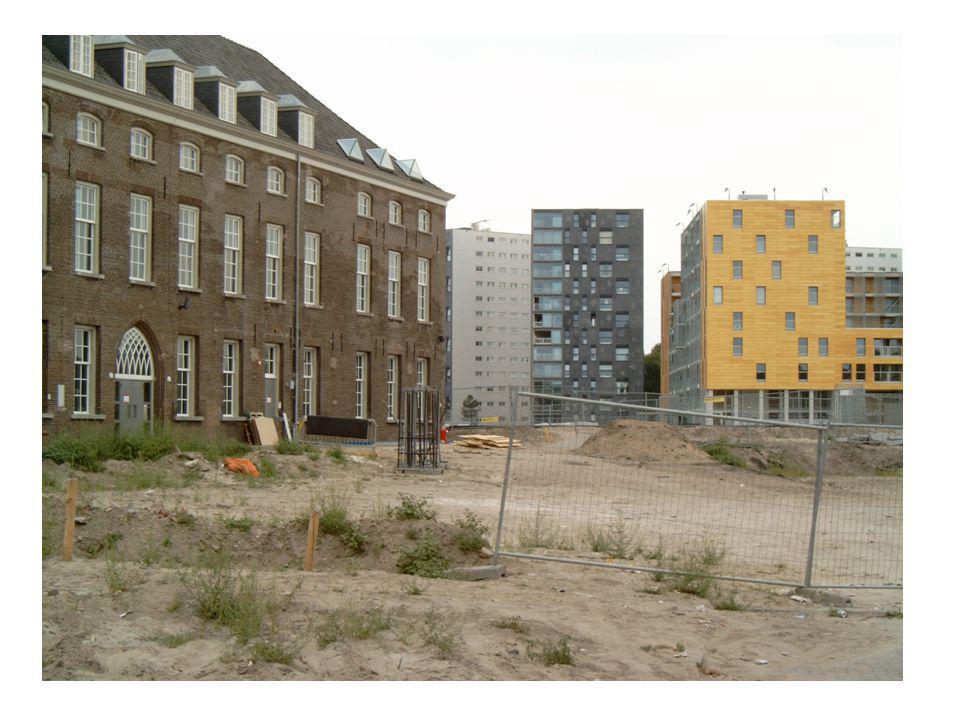 Stadsmodel Whitehand - Voormalige stadswallen als voorbeeld van een 'fringebelt'