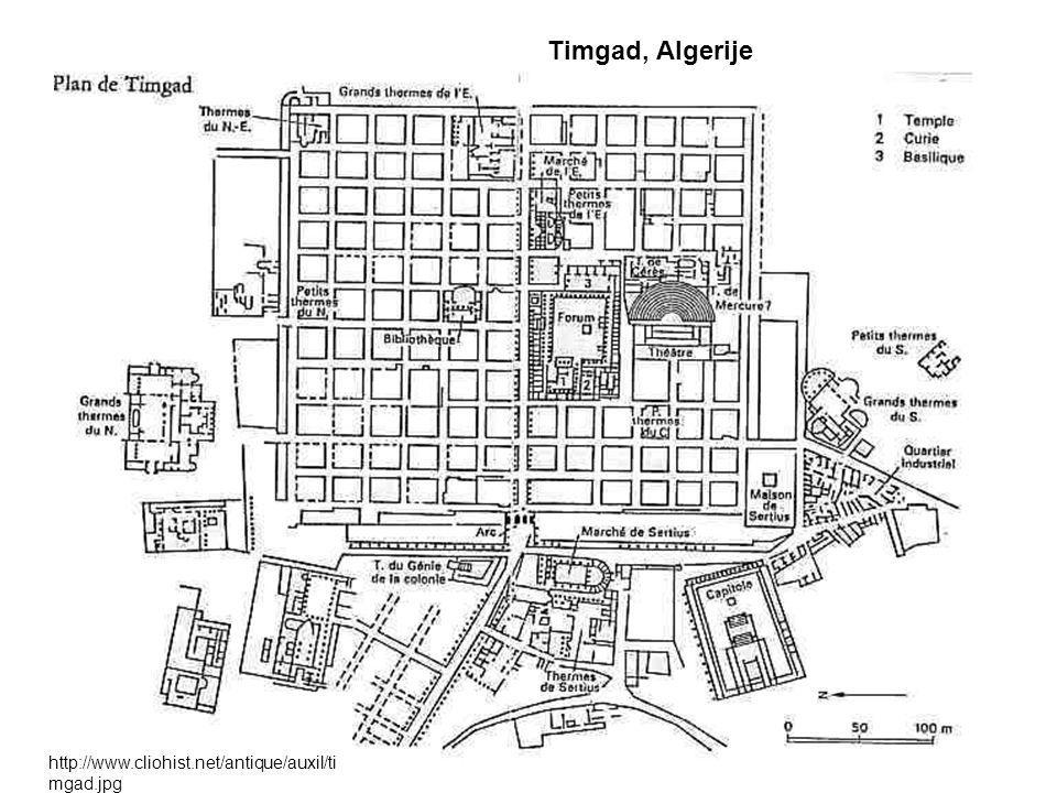 Timgad, Algerije http://www.cliohist.net/antique/auxil/ti mgad.jpg