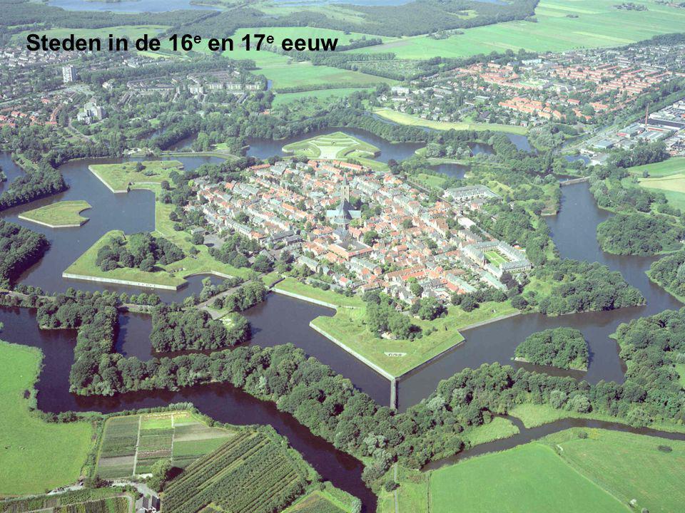 Steden in de 16 e en 17 e eeuw
