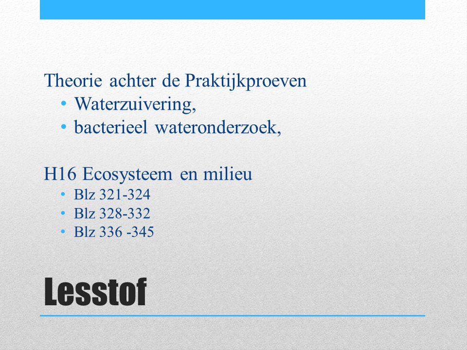 Waterzuivering Wat zijn de stappen van een RWZI.