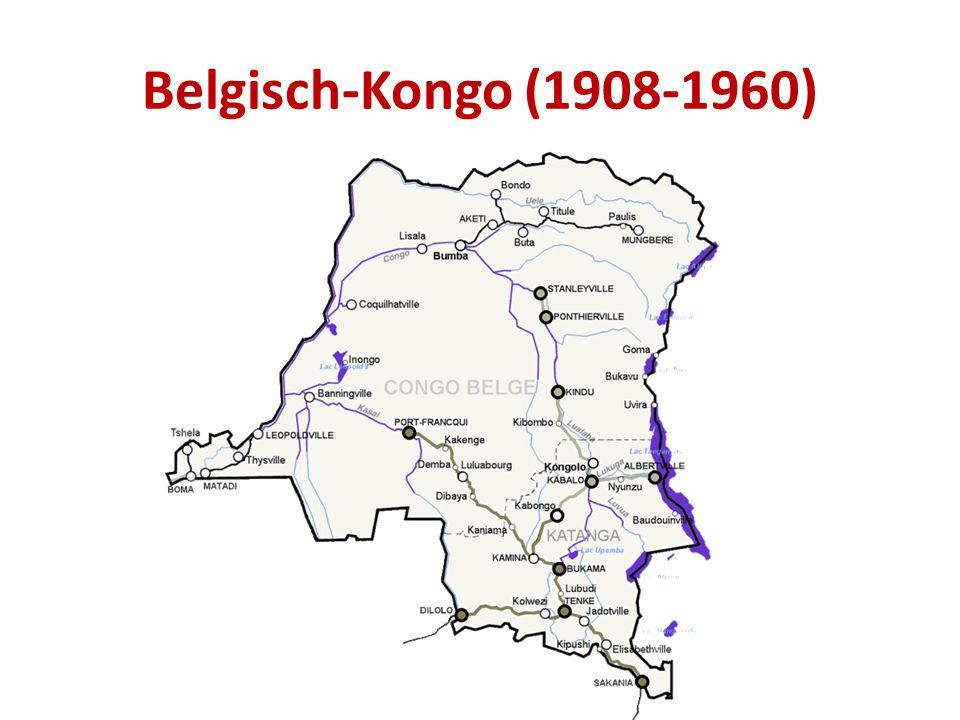 Belgisch-Kongo (1908-1960)