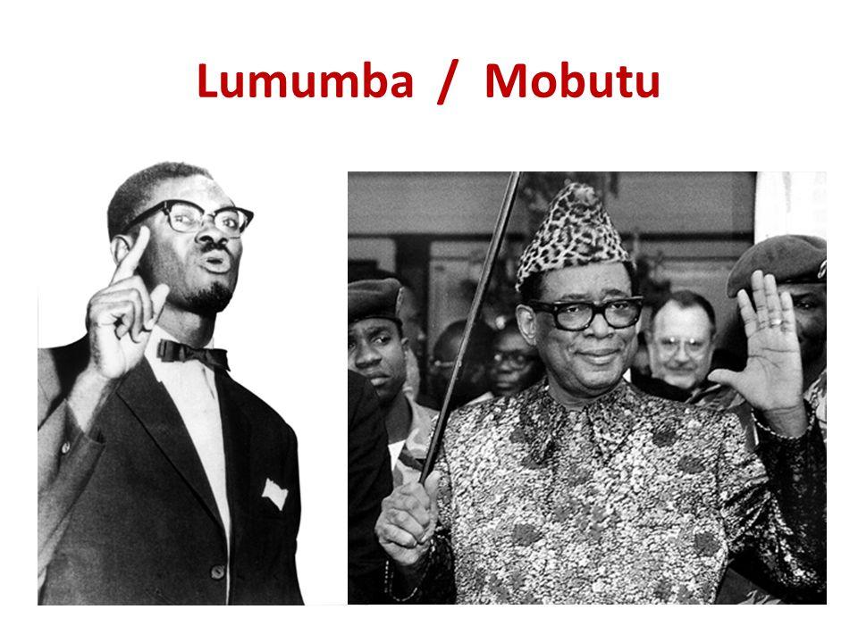 Lumumba / Mobutu