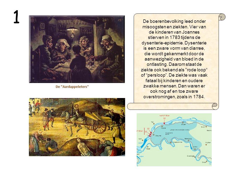 Een klein tijdsbeeld De jeugd van Willem valt in de gouden tijd van de landbouw.