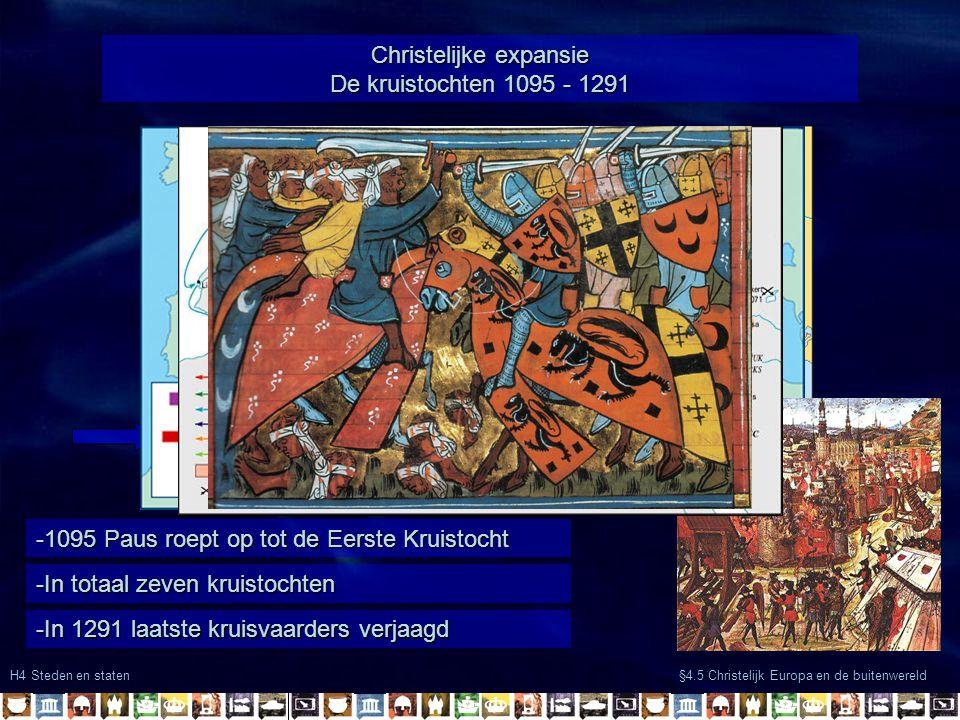 -Welvaart door de opkomende handel -Veiligheid in Europa Christelijke expansie algemene oorzaken: -Buitenwereld wordt weer bekend door handelsnetwerke