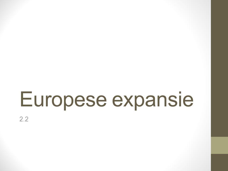 Europese expansie 2.2