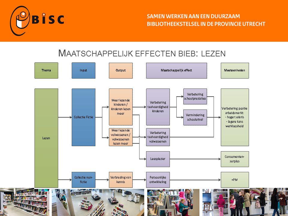 M AATSCHAPPELIJKE EFFECTEN BIEB : INFORMATIE VOORZIENING, SOCIALE COHESIE / PARTICIPATIE EN WOONOMGEVING